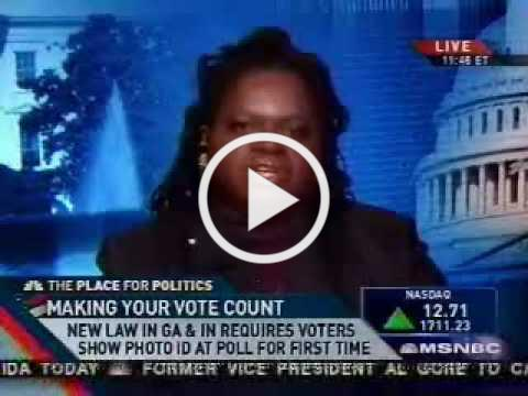 Election Protection's Barbara Arnwine on MSNBC