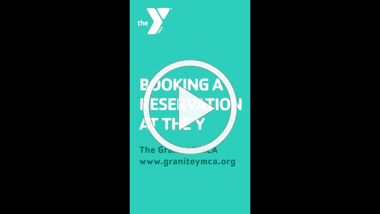 Using The Granite YMCA Reservations System
