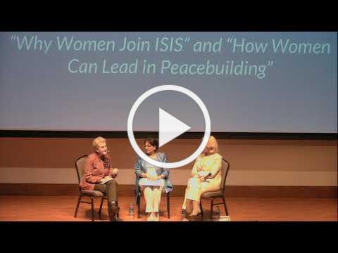 WISE Up Summit: Why Women Join ISIS and How Women Can Lead in Peacebuilding