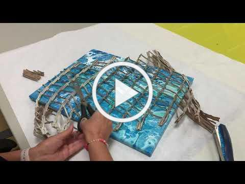 Art with Carmel- Part 2 of the Driftwood Crab