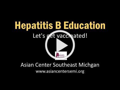Asian Ceneter SE-MI Hepatitis B Education