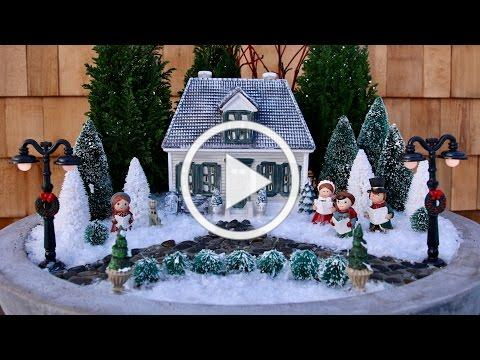 Mini Winter Wonderland // Garden Answer