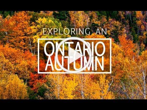 Exploring an Ontario Autumn : Tour around Grey, Simcoe and Muskoka