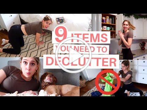 9 THINGS TO DECLUTTER TODAY FOR 2021 | How to Keep Your Home Clean and Clutter Free