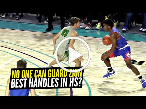 Zion Harmon CASUALLY TOYING w/ Defenders at City of Palms!! Handles SO NICE No One Can Hold Zion!
