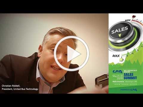 UMA Sales Summit Video from Christian Riddell