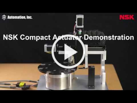 NSK Compact Actuator Demonstration