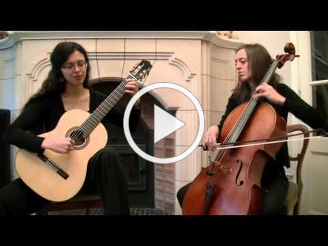 Jesu, Joy of Man's Desiring - Bach (Cello-Guitar Duo)