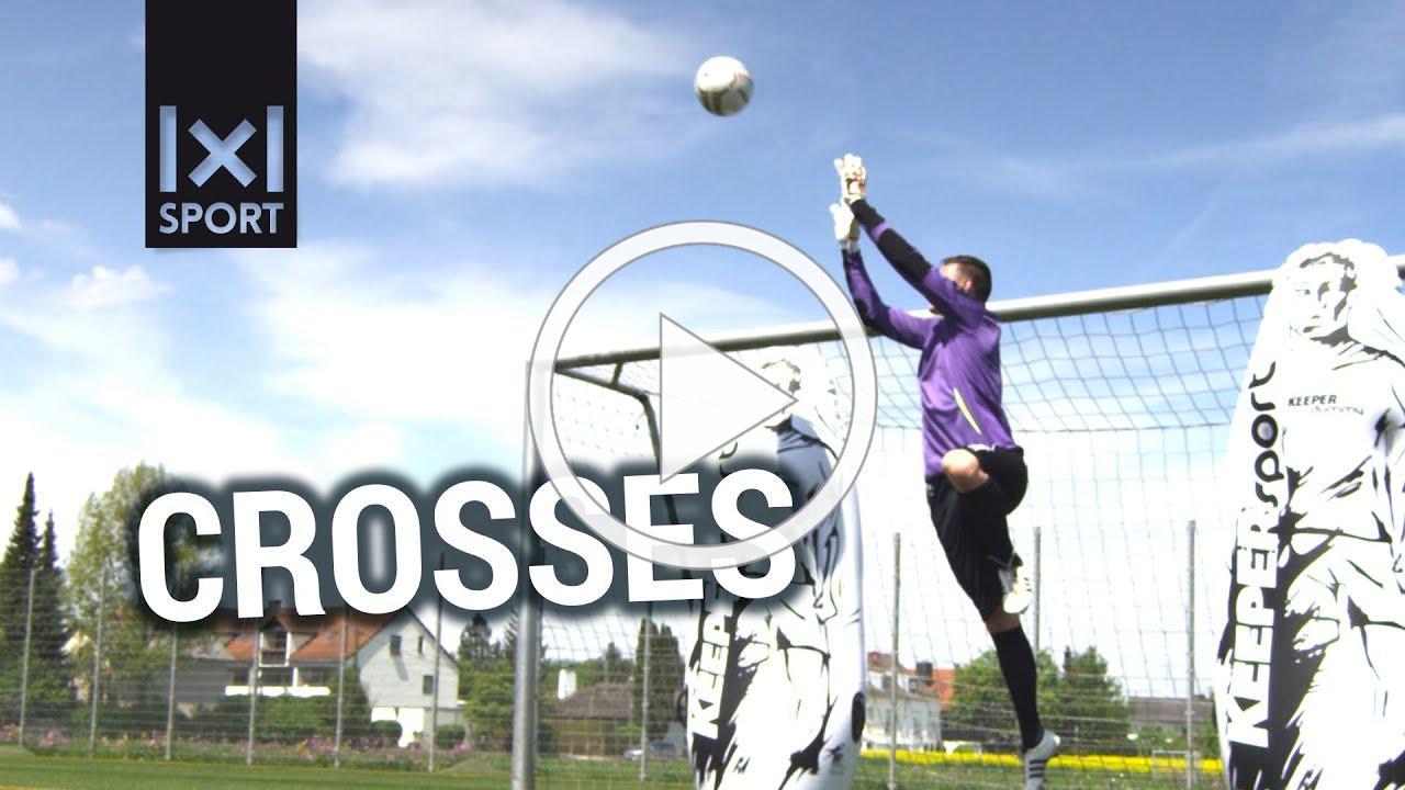 Goalkeeper Training including Error Analysis: Crosses