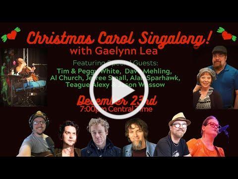 Gaelynn Lea's Christmas Carol Sing-Along / Zoom Holiday Party!