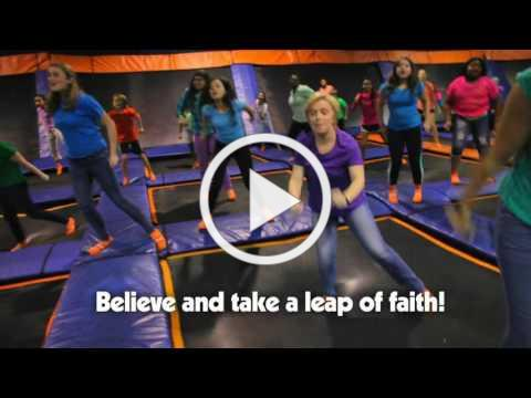 """Leap of Faith"" Music video from Cokesbury VBS 2017, Hero Central!"