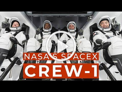 Oct. 31, 2020: Astronauts to Launch on NASA and SpaceX Crew-1 Mission