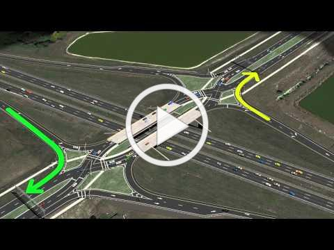 Viera Boulevard Proposed Diverging Diamond Interchange