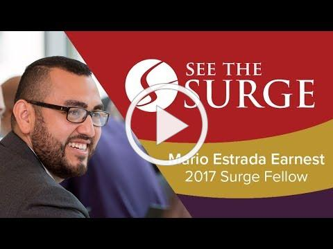See the Surge: Mario Estrada Earnest on Being Your Authentic Self