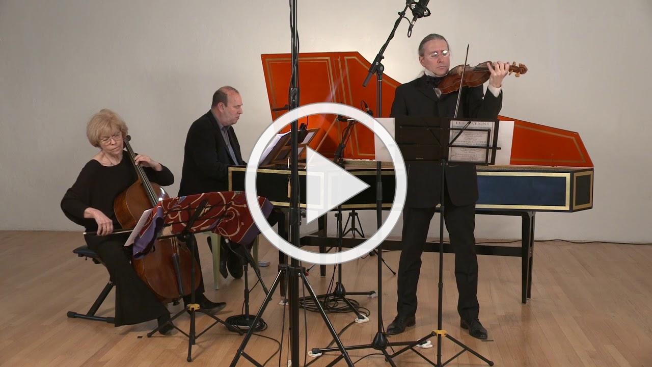 The Violin at Versailles: Olivier Brault, Loretta O'Sullivan & Andrew Appel