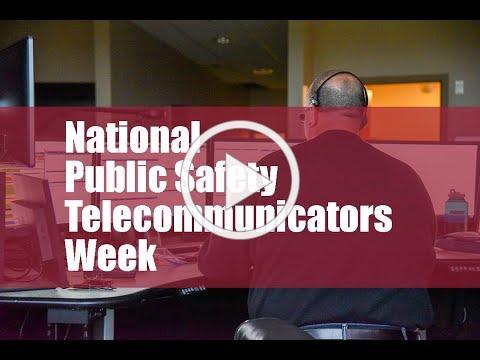 National Public Safety Telecommunicators Week 2020
