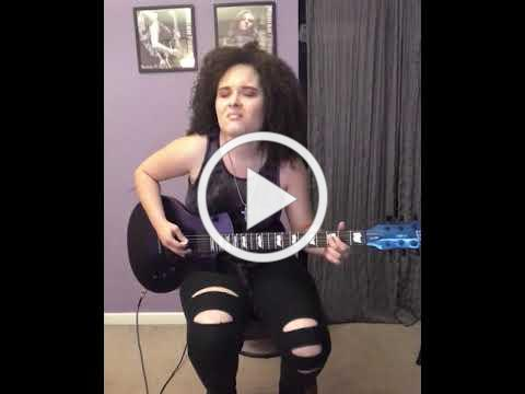 """""""Ain't Talkin' Bout Love"""" by Van Halen Cover by Moriah Formica"""