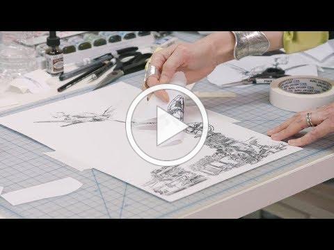 How to make Xerox transfer art   IN THE STUDIO