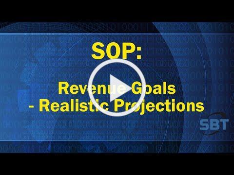 SOP: Realistic Financial Projections