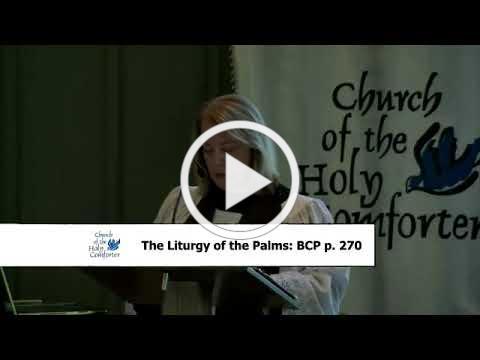 Palm Sunday Service - Sunday of the Passion - April 5, 2020