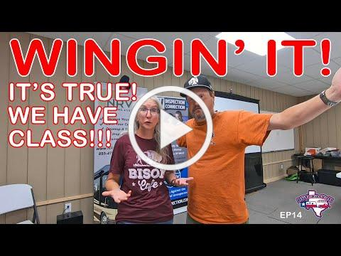 We've Gone Back To School! | Wingin' It!, Ep 14 | RV Texas Y'all