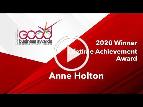 2020 Lifetime Achievement Award - Anne Holton