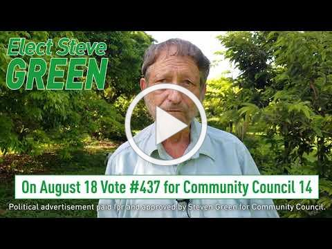 Elect Steve Green