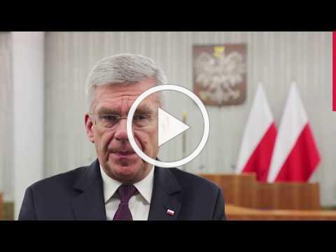 Apel marszałka Senatu Stanisława Karczewskiego do Polonii