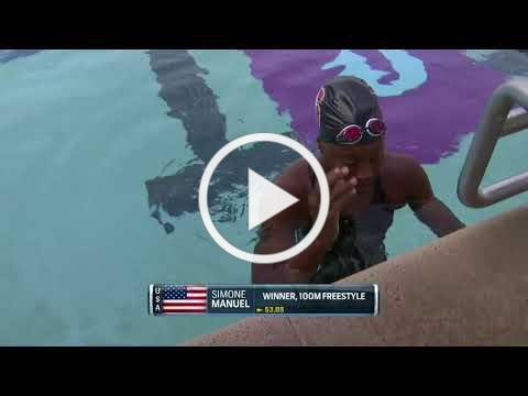 Women's 100m Free A Final | 2018 TYR Pro Swim Series - Santa Clara