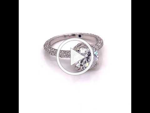 MDJ Advantage - Jude Frances Diamond Semi Mount .93 ct - Dominic Mainella 4009444