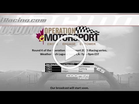 Operation Motorsport - Laguna Seca iRacing Event