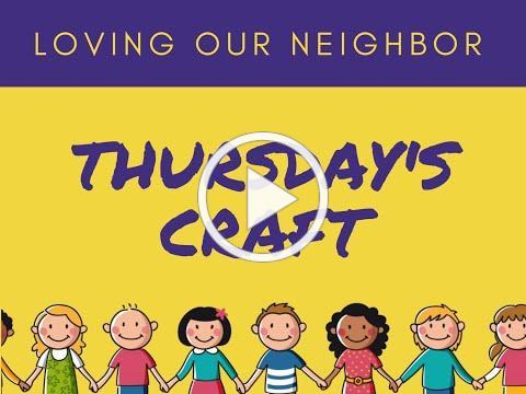 VBS 2020 Thursday Craft/Friendship