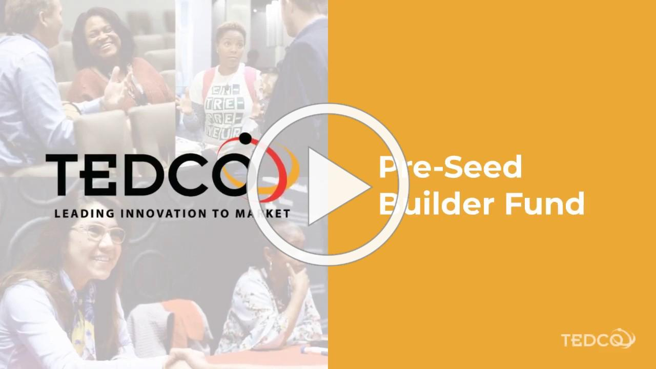 TEDCO's Builder Fund 2020