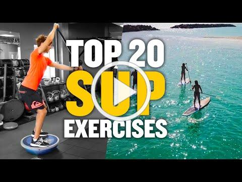 BEST BALANCE EXERCISES FOR STAND UP PADDLE BOARDING