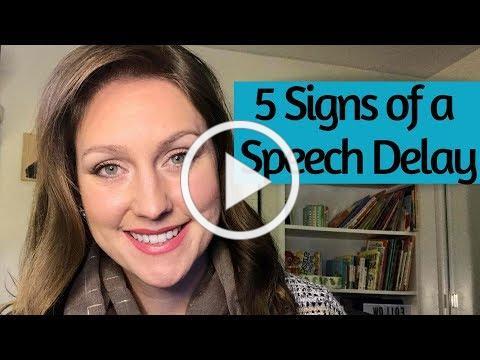 5 Signs of a Speech Delay   Speech Therapist Explains