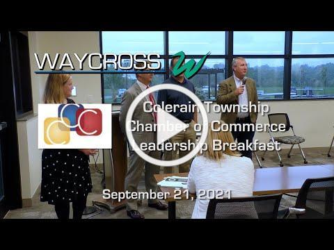 Colerain Township Chamber of Commerce Leadership Breakfast - September 21, 2021