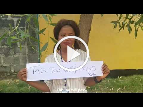 Message of love and support from the Child Reintegration Centre