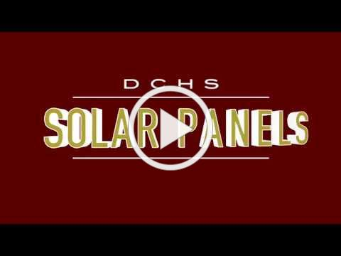 DCHS Solar Panels and DMS XC Track