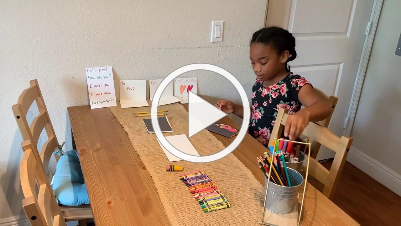 """ELCPBC Child Care Providers - Learning Through Play """"Week 9 - Letters to Friends Activity"""""""