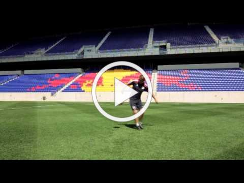 Skill of the Week - Flick Around the Ball - Flick Behind Rotating Leg [New York Red Bulls Academy]