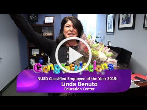 Linda Benuto - NUSD Classified Employee of the Year 2019