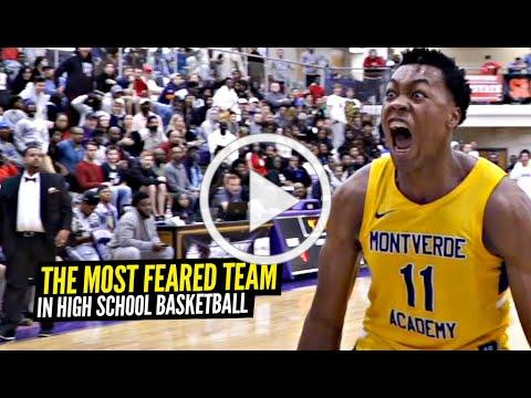 The MOST FEARED Team In High School Basketball: Montverde Academy Is A D1 College Team Playing HS!