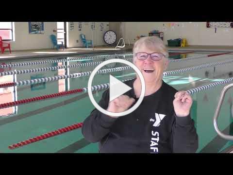 Sue's Big Swim!