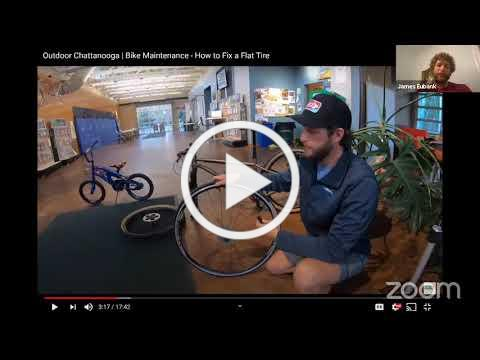 Outdoor Chattanooga | Bike Maintenance 101 Workshop - How to Fix a Flat Tire
