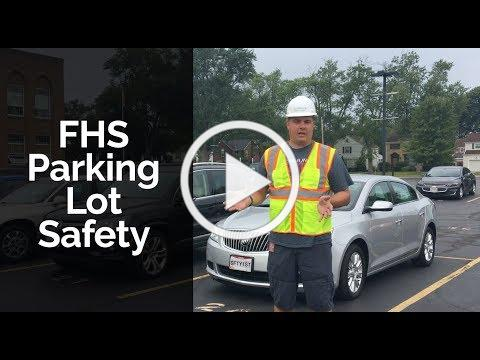 Parking Lot Safety at Fairview High School