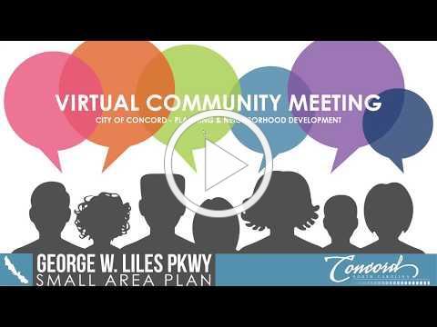 George W Liles Pkwy SAP Virtual Community Meeting