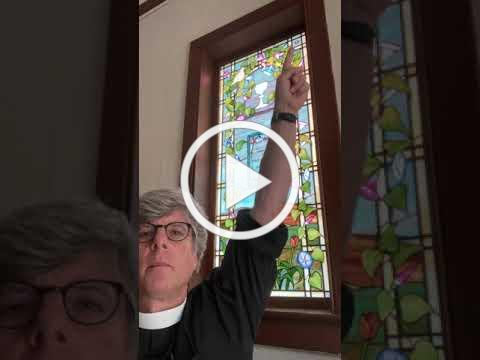 Beloved Spaces: Mary Bell window, Christ Episcopal Church (Needham, MA)