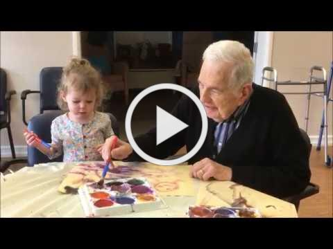 ONEgeneration Intergenerational Programs Painting