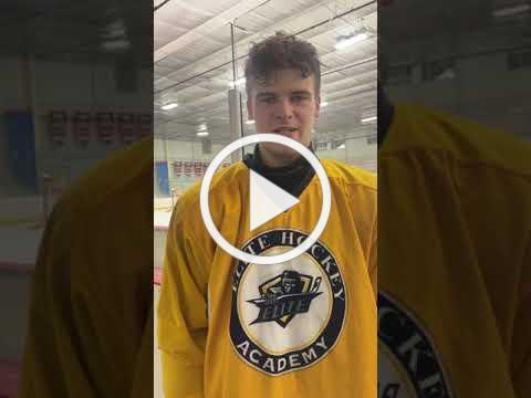 Jack LaFontaine, 18U Defensemen, talks about his experience living away from home