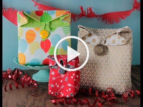 Fabric Gift Bag: Show Me How